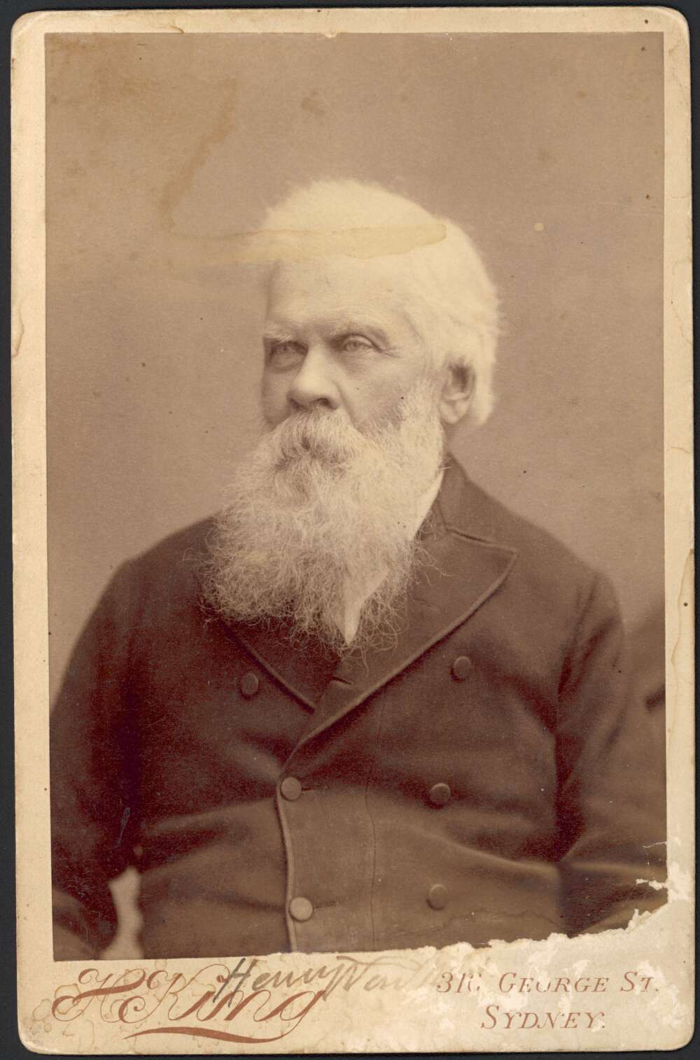 Portrait of Henry Parkes, by Henry King