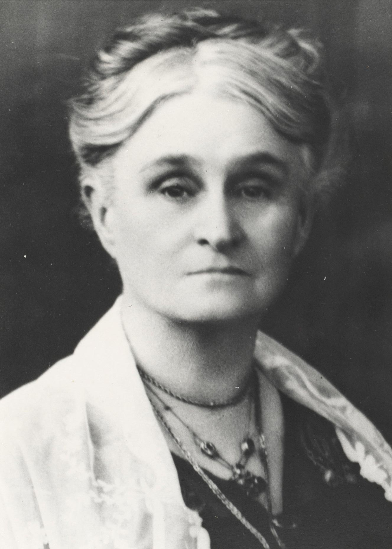 Portrait of Edith Cowan.