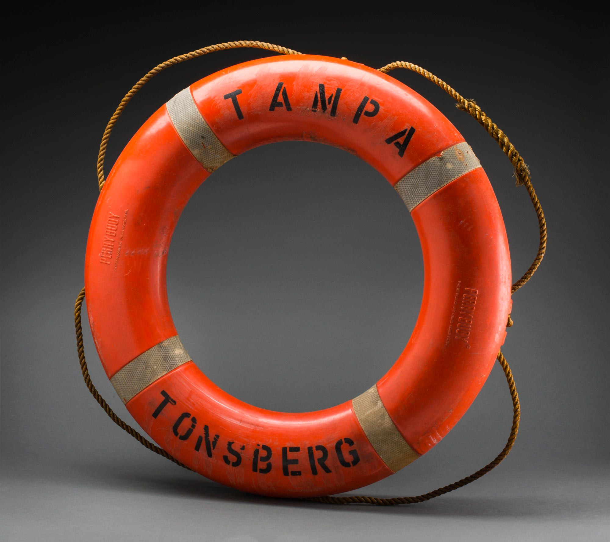 <p>Lifebuoy from the MV <em>Tampa</em></p>