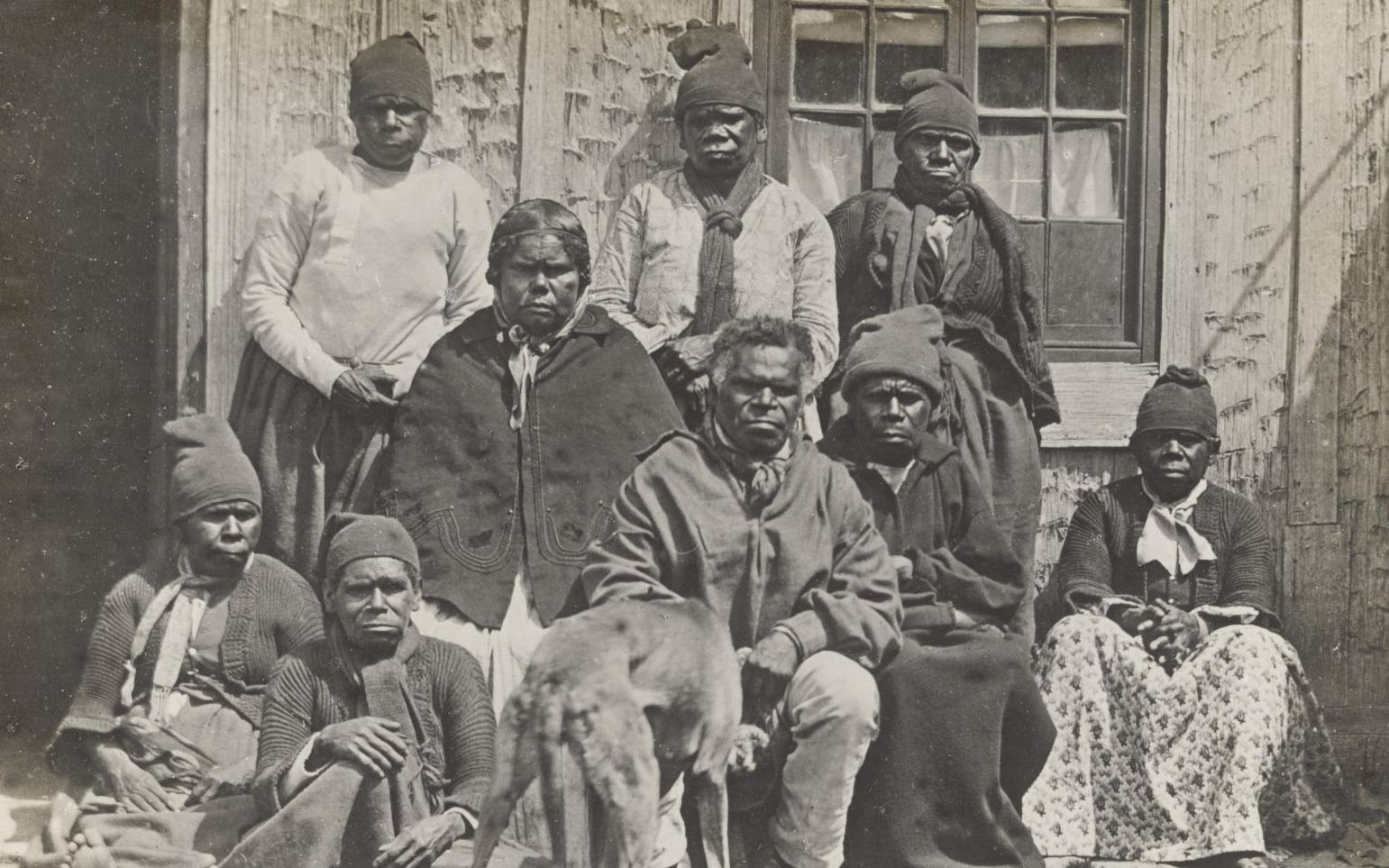 Tasmanian Aboriginal people at Oyster Cove